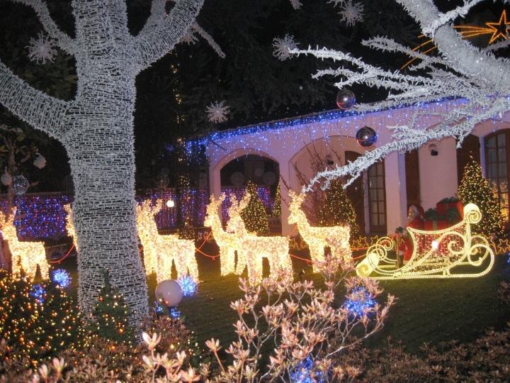 Presepe di Natale di Ghiaccio a Massa Martana Foto