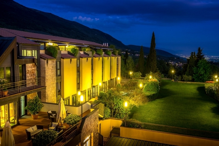 Capodanno Grand Hotel Assisi cenone e SPA